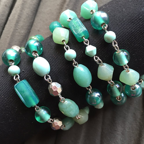 Beads of Green  |  Earth Elements Necklace