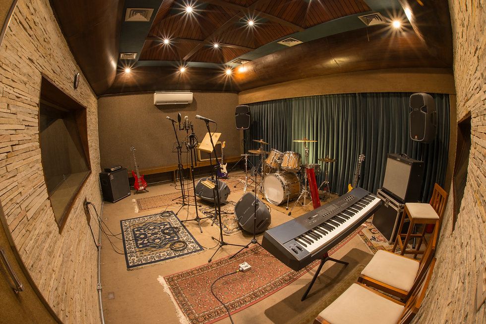 Peregrino Music Studio Main Recording Room