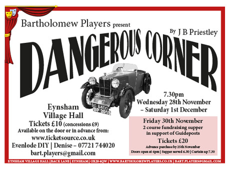 Tickets are now on sale for Dangerous Corner!
