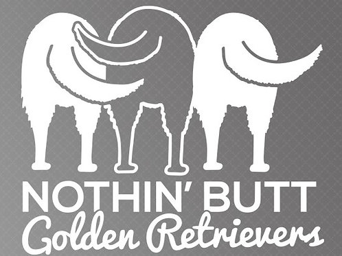 Nothing butt golden retrievers