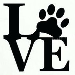 Dog Love Decal