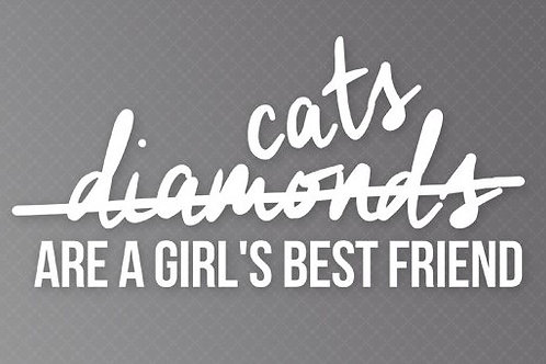 cats are a girls best friend