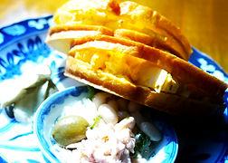 エムズカフェのたまごサンドイッチ