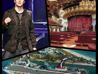 "Jackson Rayne signs residency contract with Carnival Cruise Lines to launch brand new show, ""NO"