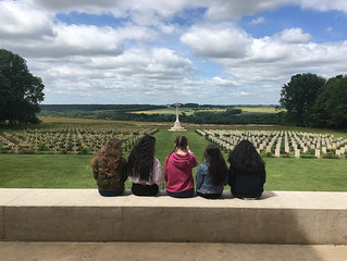 Year 10 History Trip to Belgium – Battlefields Tour 2017