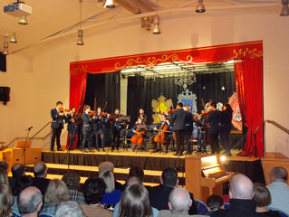 Standing Ovation For Rathmore Musicians!