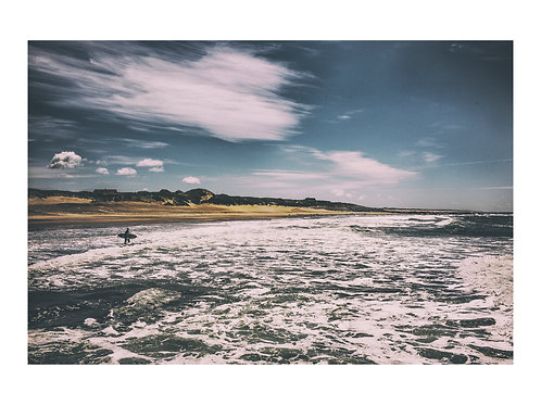 PRINT | NORTH SEA SURFER | LANDSCAPES