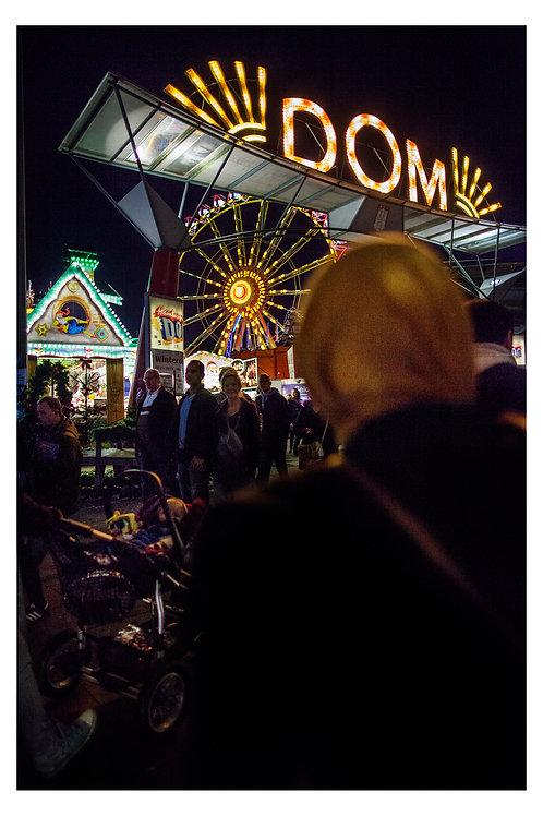 PRINT | YELLOW DOM | HAMBURG CALLES
