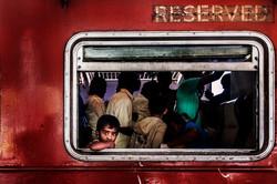 Sri Lanka Travel girl train