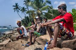 Sri Lanka Travel local surfers