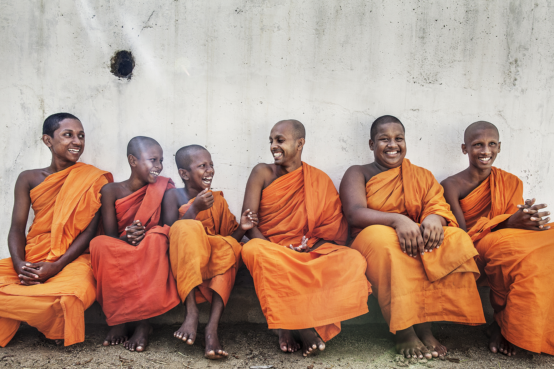 Sri Lanka Travel monks