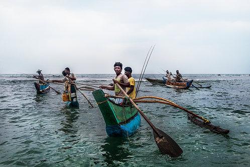 PRINT | FISHERMEN | SRI LANKA