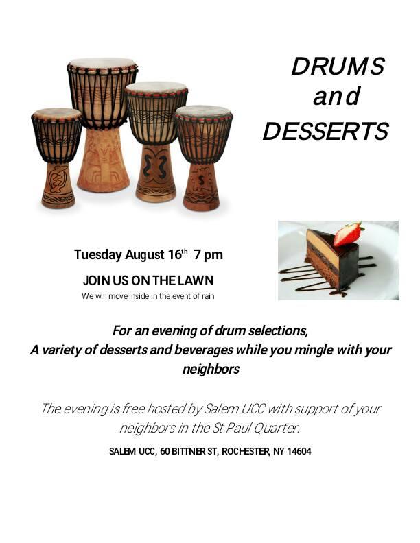 Drums & Desserts
