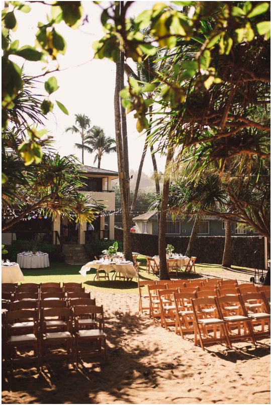 Hawaiian Estate Wedding