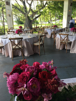 Gorgeous setting for a wedding