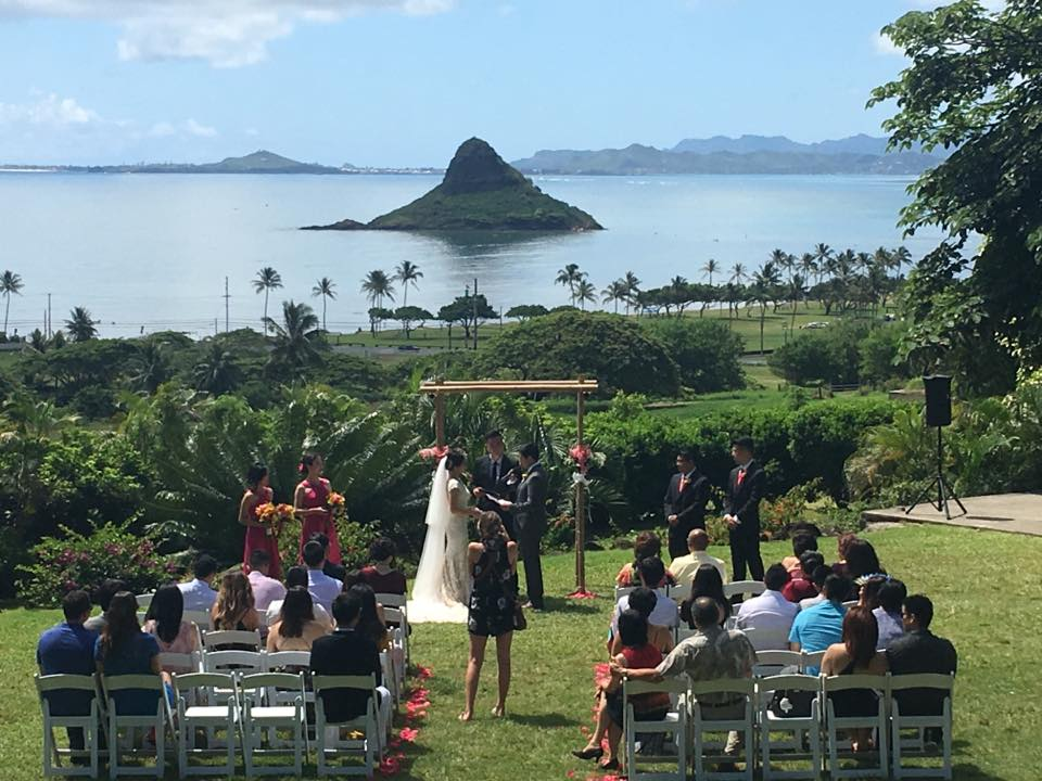 Chinamans Hat Hawaii Wedding
