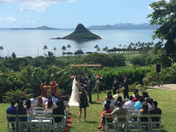 Chinamans Hat Hawaii Wedding