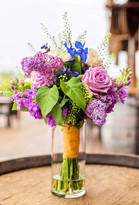Roses and Lilac Bouquet