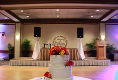 hawaii wedding dj setup