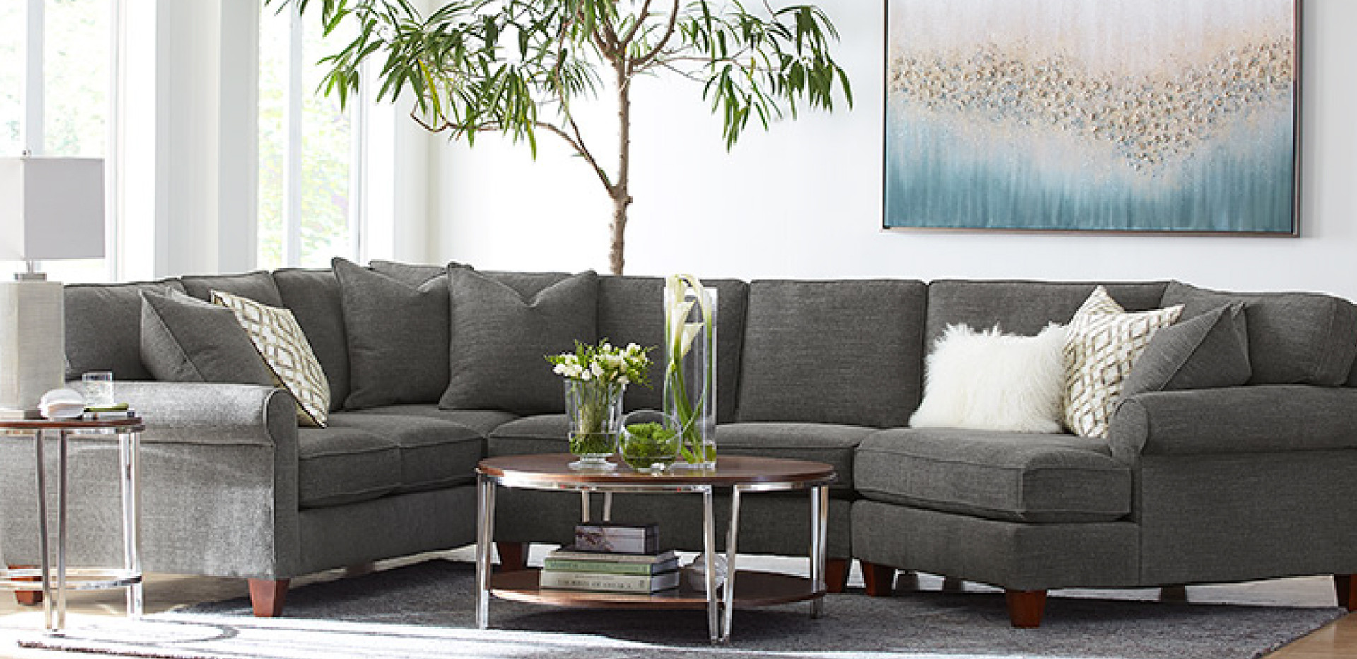 Carly Sectional | Sklar Peppler Home | Ajax