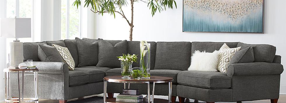 Carly Sectional | Sklar Peppler Home | Ajax