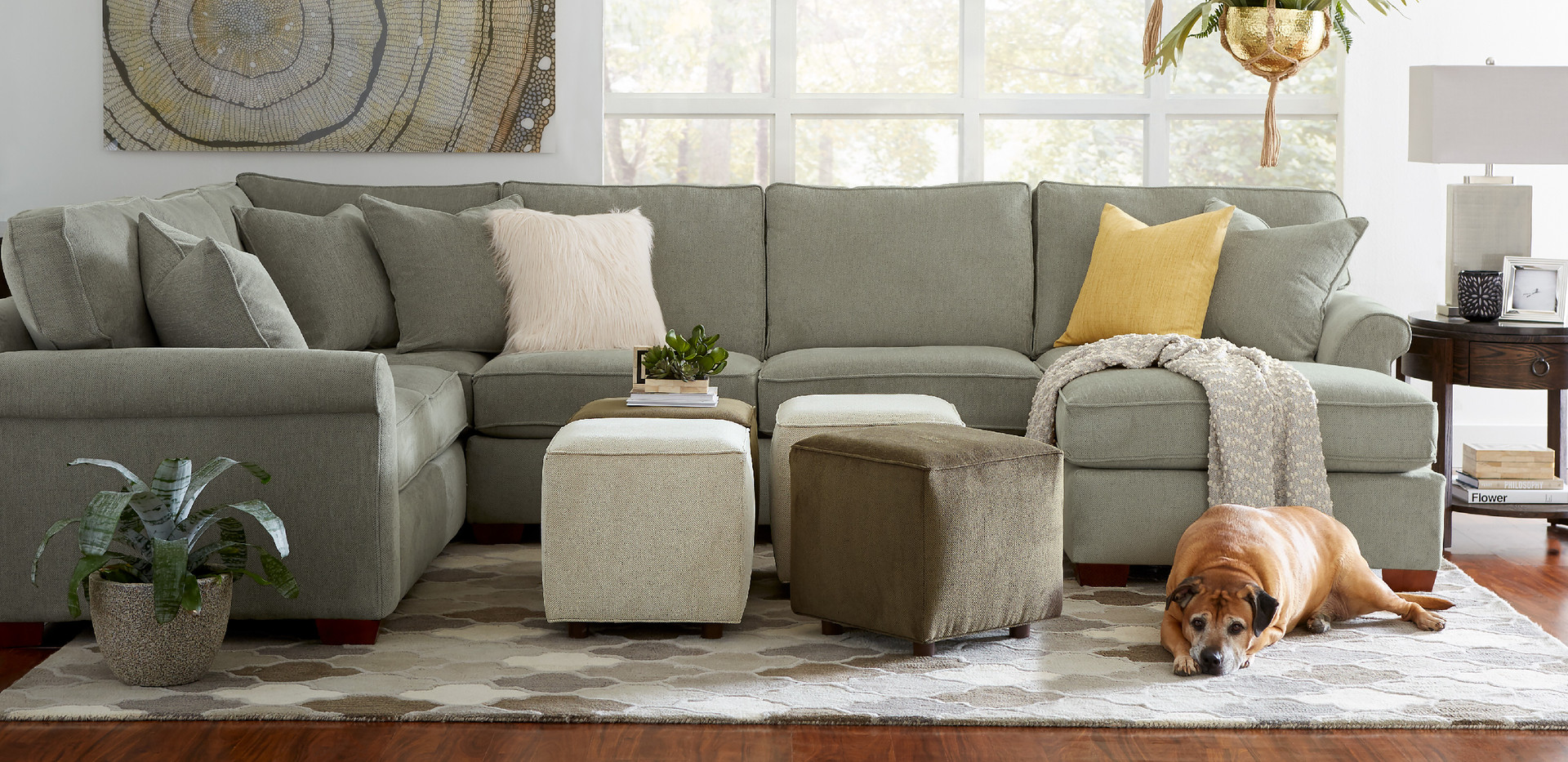Kennedy Sectional | Sklar Peppler Home | Ajax