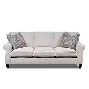 three seater sofa with rolled arms