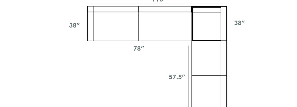 Kennedy Sectional | Sklar Peppler Home | Ajax