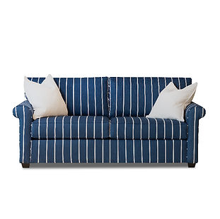 small sofa with rolled arms