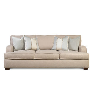 large sofa with deep seating