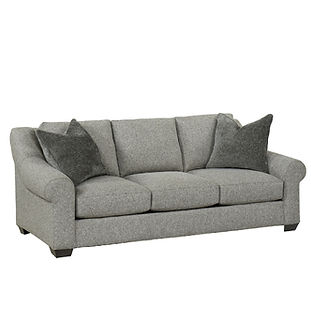 deep seated sofa with large arms