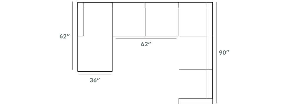 Lincoln Sectional | Sklar Peppler Home | Ajax