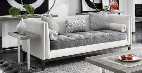 Sofa in a livingroom Sklar Peppler