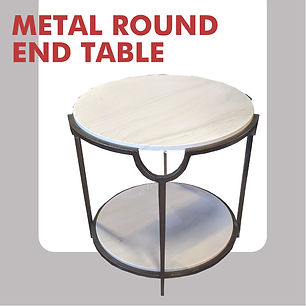 modern marble side table