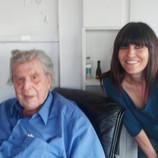 with Mikis Theodorakis