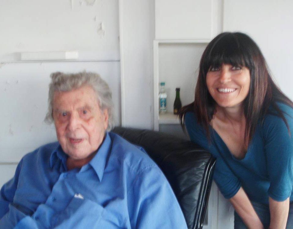 with Mikis Theodorakis
