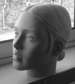 Jeune femme stylisée