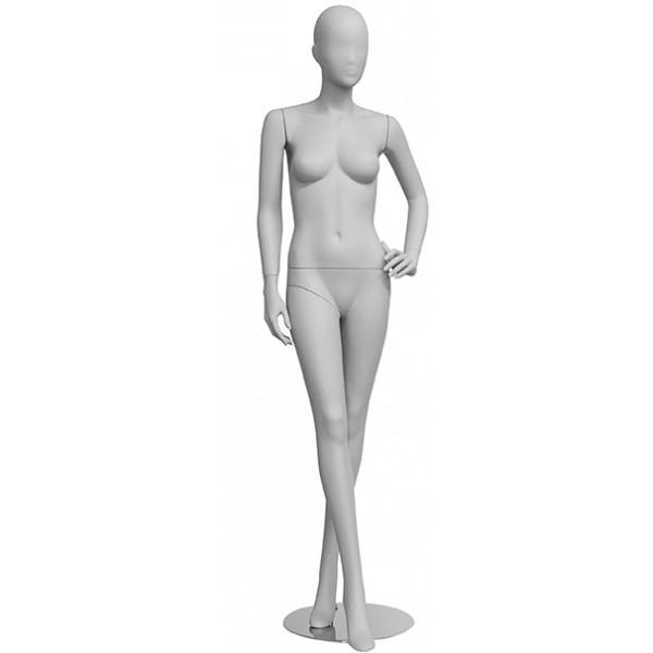 Femme défilé