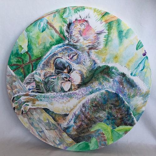 Koala Love Painting