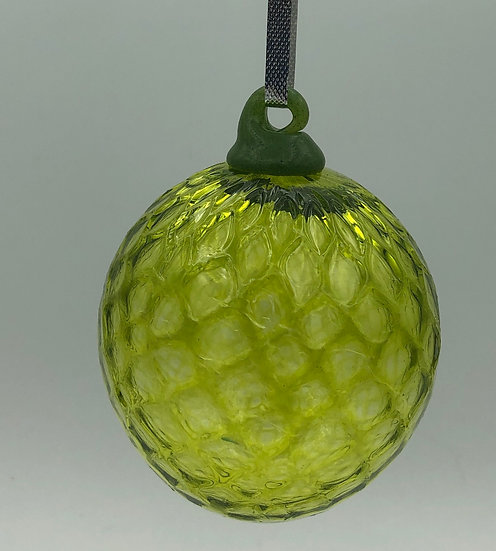 Green Glass Ball