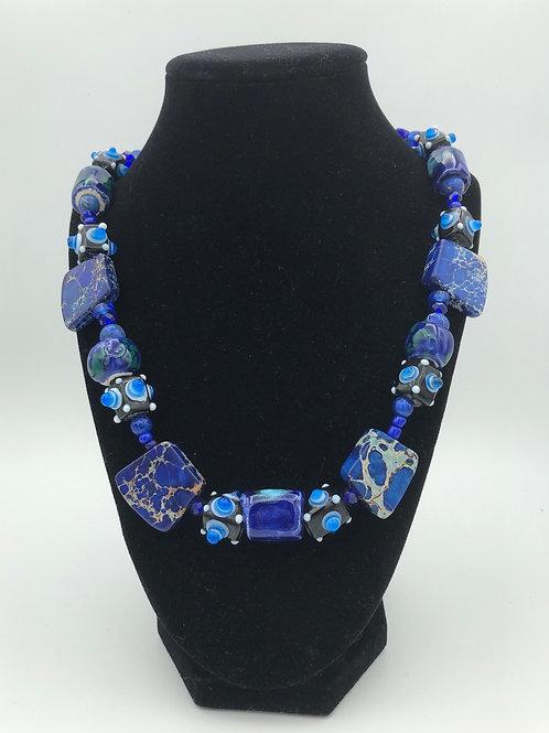 Colbalt Necklace