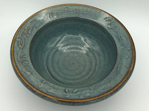 Blue Rim Bowl