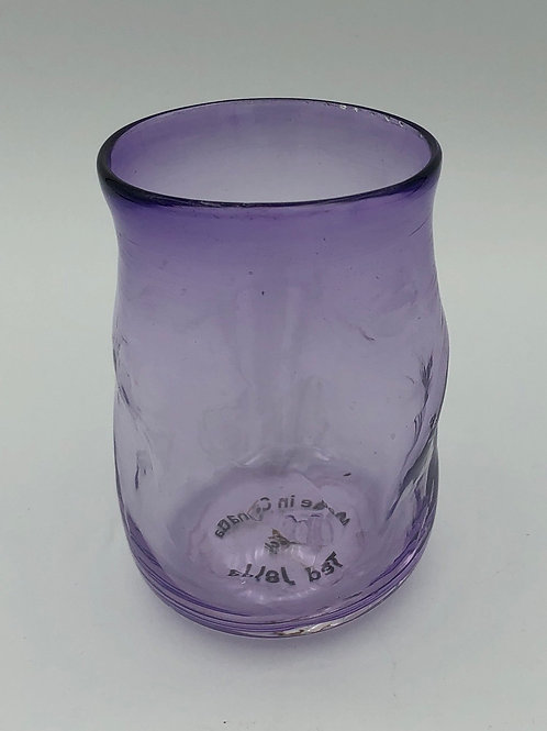 Small  purple drinking glass