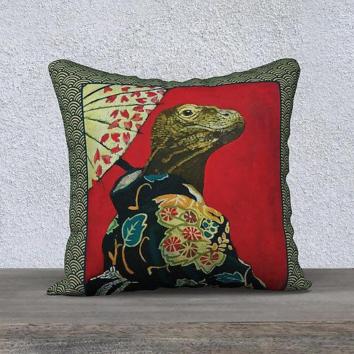 Kimono Dragon pillow cover