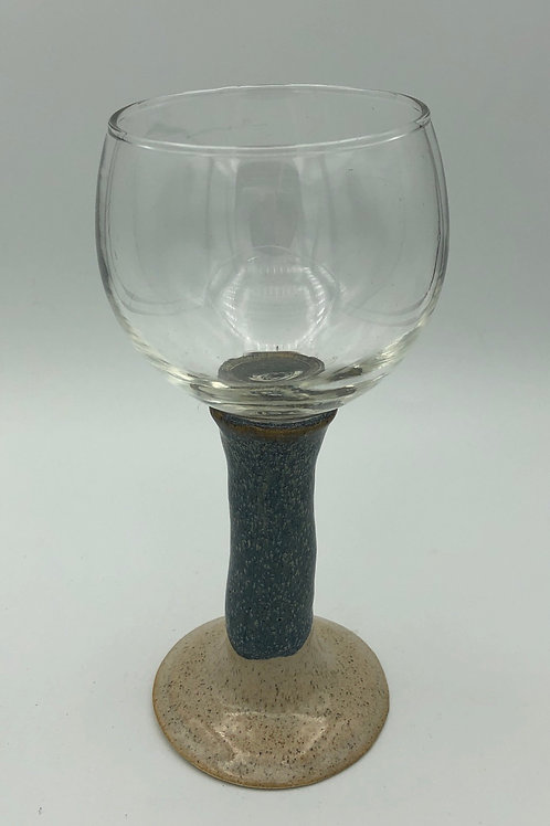 Pottery Wine Glass