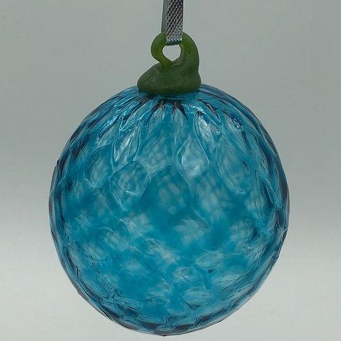 Teal Glass Ball