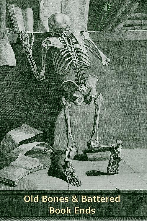 Old Bones&Battered Book Ends  Book of Poetry