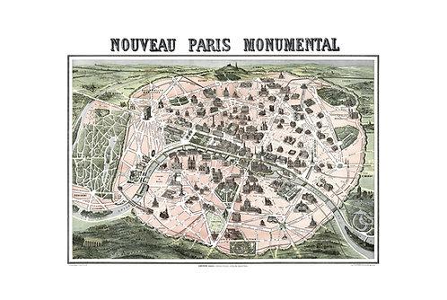 Nouveau Paris Monumental, 1890
