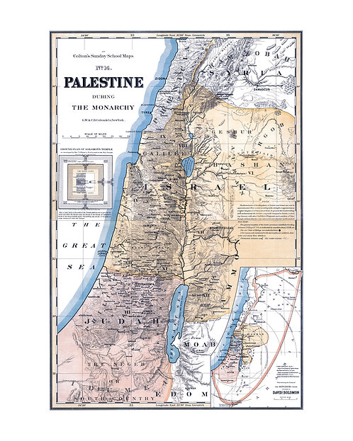 Palestine during the monarchy, 1895