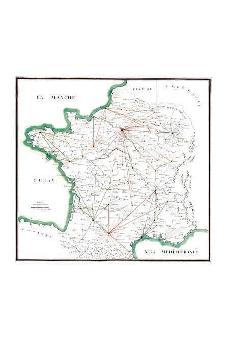 Carte de France, 1780